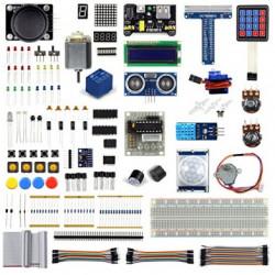 Ultimate Starter Learning Kit - zestaw startowy dla Raspberry Pi - 205 elementów