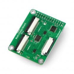 Multi camera adapter module v2.2 - hub do kamer dla Raspberry Pi 4/3B/3B+