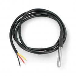 Wodoodporny cyfrowy czujnik temperatury DS18B20 dla Arduino