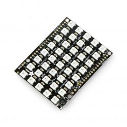 Adafruit NeoPixel Shield - 40 RGB LED - panel for Arduino