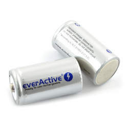 Akumulator R20 everActive 5500mAh silverline