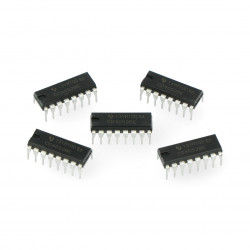 Analogowy multiplekser/demultiplekser 4052 - THT