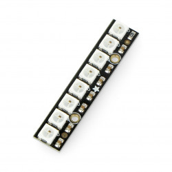 NeoPixel Stick - 8 x WS2812 5050 RGB LED with Integrated Drivers