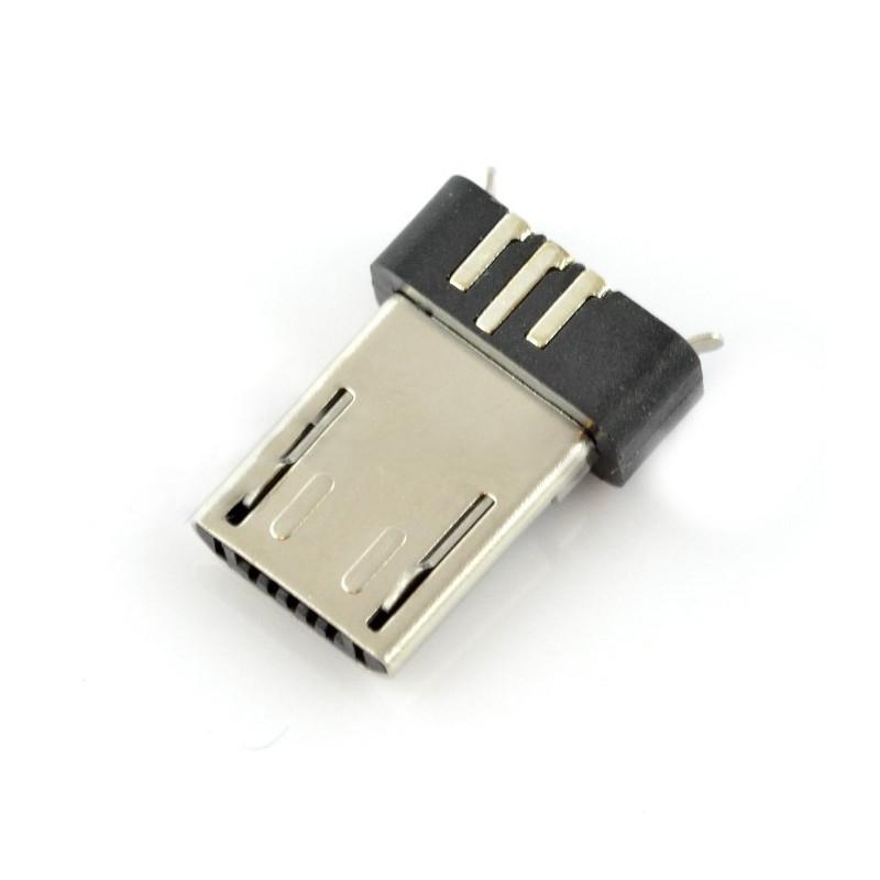 MicroUSB type B plug