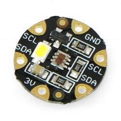 Adafruit FLORA - czujnik koloru TCS34725 z podświetleniem LED