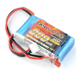 Pakiet LiPol Gens Ace 800mAh 40C 2S 7.4V