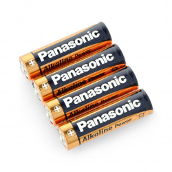 Baterry Panasonic Alkaline Power - AA (R6)