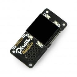 Pirate Audio Speaker - głośnik z wyświetlaczem dla Raspberry Pi