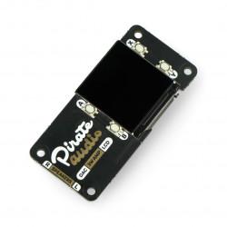 Pirate Audio 3W Stereo Amp - wzmacniacz stereo 3W z wyświetlaczem - AMP dla Raspberry Pi