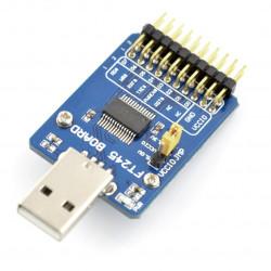 Konwerter FT245 USB - interfejs równoległy FIFO [UWAGI]