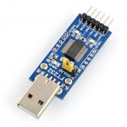 Konwerter USB-UART FTDI FT232 - wtyk USB
