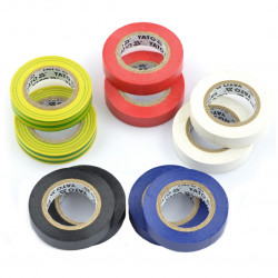 Set of electrical tape 12 x 10 m - 10pcs