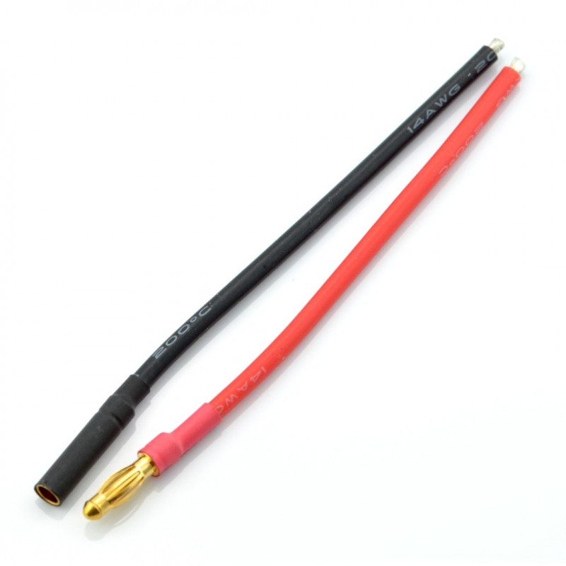 A pair of 4mm Gold connectors*