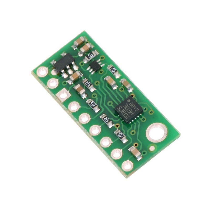 LSM303D 3-osiowy akcelerometr + magnetometr IMU 6DoF I2C/SPI - moduł Pololu