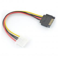 Adapter SATA - Molex - 15 cm