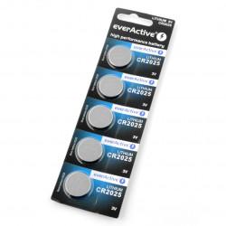 Bateria litowa EverActive CR2025 3V