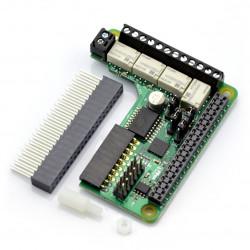 PiFace Relay+ - rozszerzenie do Raspberry Pi 2/B+