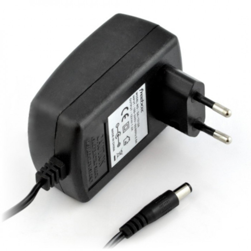 Power supply 12V/1,2A - DC plug 5,5/2,5mm