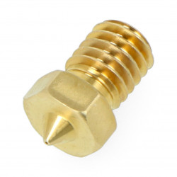 Dysza 0,25mm dla E3D V6 - filament 1,75mm - oryginalna Prusa