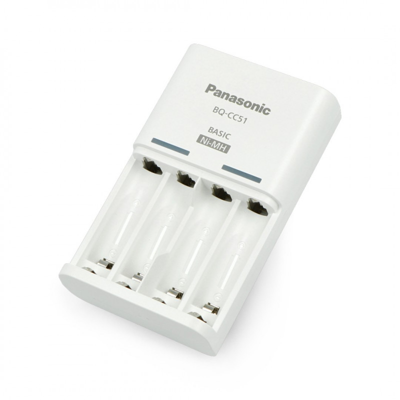 Panasonic BQ-CC51 Charger for AA, AAA Batteries
