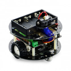 DFRobot MiniQ Discovery Kit - 2-wheeled robot platform with driver and Romeo controller_
