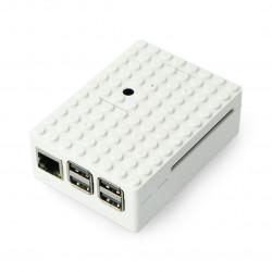 Pi-Blox - Obudwa Raspberry Pi Model 2/B+ - biała