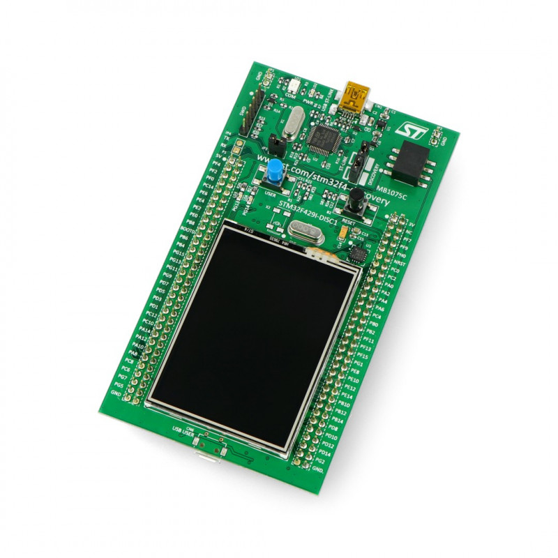 STM32F429I-DISC1 - Discovery - STM32F429IDISCOVERY + 2.4*