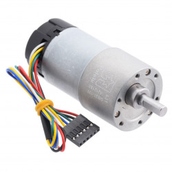 DC Motor 37Dx73L with 131:1 Gear 12V 76RPM + encoder CPR 64