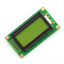 Wyświetlacz LCD 2x8 znaków zielony