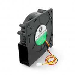 Dmuchawa wentylatorowa 12V 5,4W - 120x120x32mm - łożysko ślizgowe