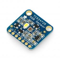 Adafruit TCS34725 - czujnik koloru RGB z filtrem IR I2C