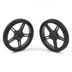 Pololu wheel 60x8mm black - pair