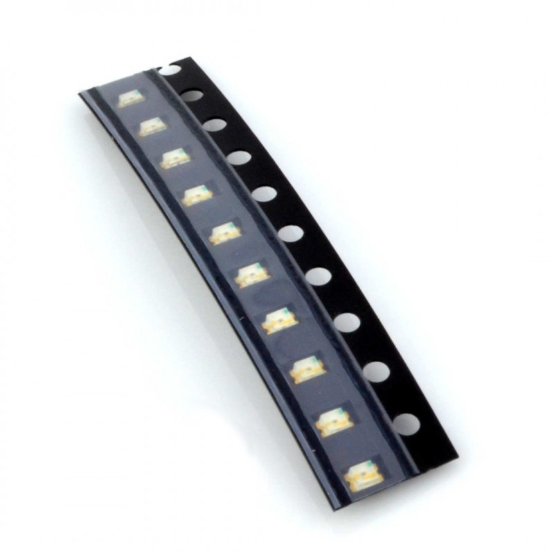 LED SMD0805 white - 10pcs_