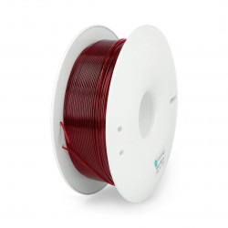Filament Fiberlogy Easy PET-G 1,75mm 0,85kg - transparentny Burgundy