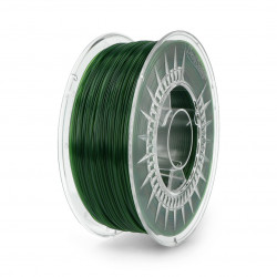 Filament Devil Design PET-G 1,75mm 1kg - zielony transparentny