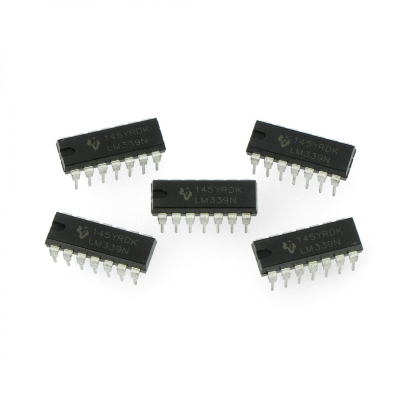 Analog Comparator LM339 - THT - 5pcs_