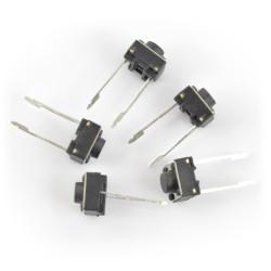 Tact Switch 6x6, 4.3mm DIP - 5szt.