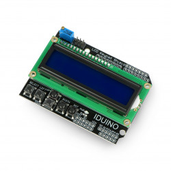 Iduino LCD Keypad Shield - display for Arduino