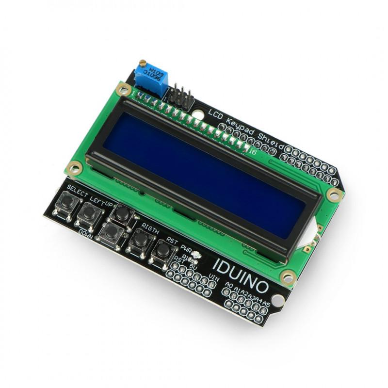 LCD Keypad Shield - display for Arduino - Iduino ST1113