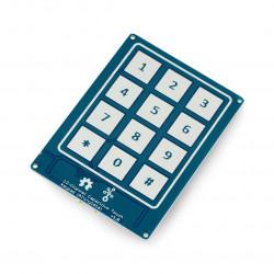 Grove - klawiatura dotykowa, pojemnościowa ATiny1616 - 12 przycisków - Seeedstudio 101020636
