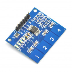 TTP224 4-way Capacitive Touch Switch Module