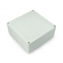 Plastic housing IP65 Kradex ZP150 - 149x149x60mm - light grey