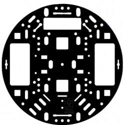 "Podwozie Pololu 5"" RRC04A - czarne"