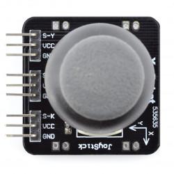 Thumb Joystick z przyciskiem - moduł z płytką
