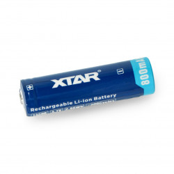 14500 Li-Ion Xtar 800mAh with protections