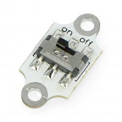Kitronik Electro-Fashion - moduł z włącnzikiem suwakowym
