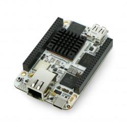 BeagleBone AI - ARM Cortex-A15 - 1.5GHz, 1GB RAM + 16GB Flash, WiFi i Bluetooth