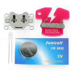 Electro-Fashion multicolour LED diode set