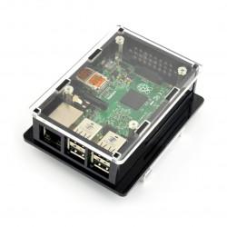 Obudowa Raspberry Pi 2/B+ na szynę DIN