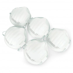 Disposable Vorel filter half mask 74540 FFP1/K - 5 pcs